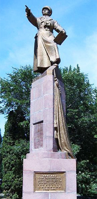 Памятник И.В. Панфилову, г. Бишкек