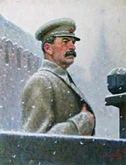 И.В. Сталин. Художник А. Лактионов