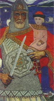 Князь Олег и Игорь. И. Глазунов