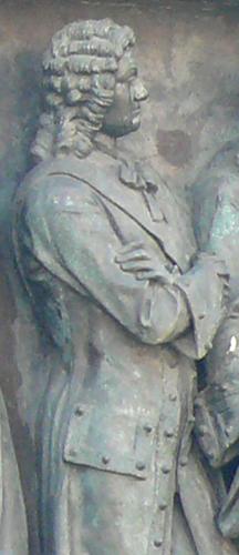 Б.П. Шереметев на памятнике «Тысячелетие России»
