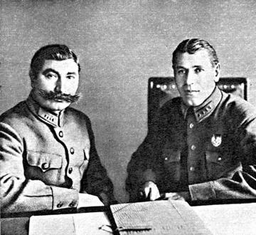 Шапошников Б.М. с Буденным С.М.