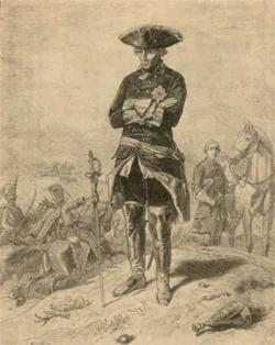 Фридрих после битвы при Кунерсдорфе