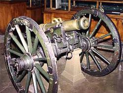 Русский 3-х фунтовый единорог. Принят на вооружение к началу Семилетней войны
